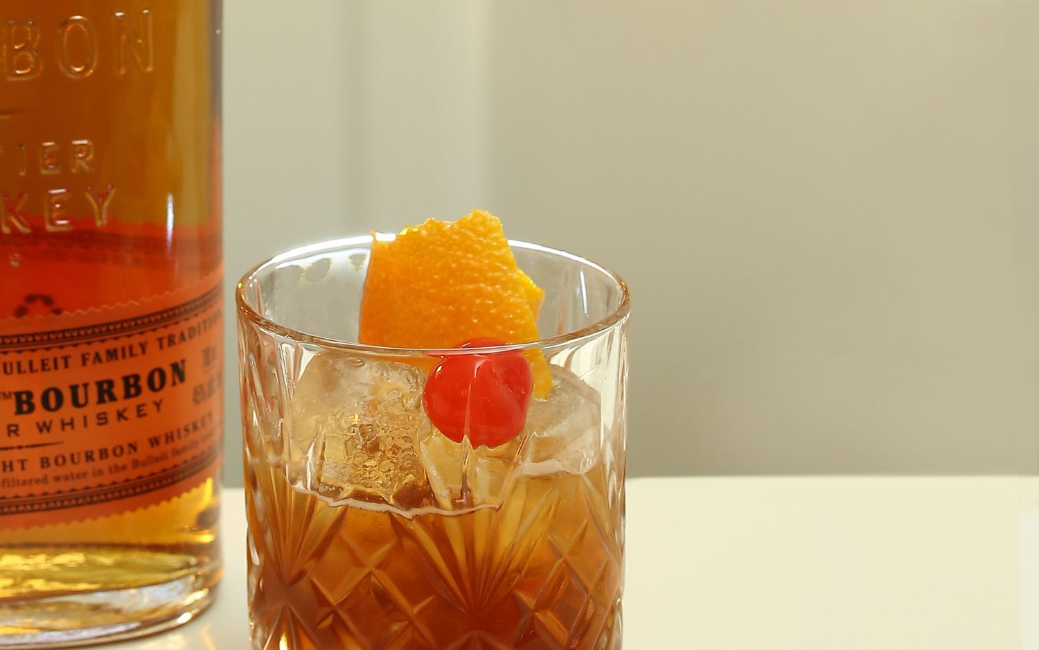 Header Photo Of Old Fashioned Drink